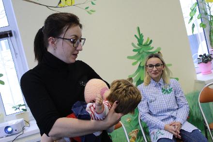 Бесплатное обучение на консультанта по грудному вскармливанию организовано в Вологде
