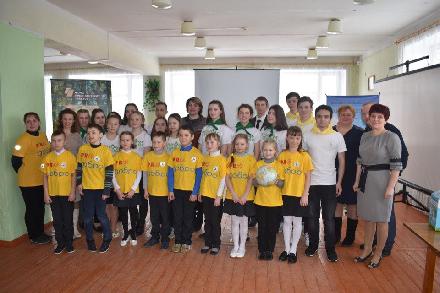 Член ОП ВО Людмила Потаева выступила на экологическом мероприятии отряда «Инициатива»