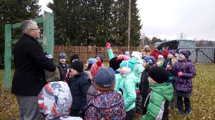 Общественники провели для школьников урок в дендрологическом саду