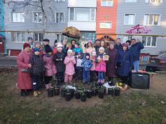 Осенний бал провели на улице Фрязиновской в Вологде