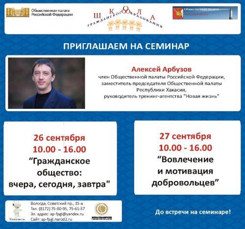 Алексей арбузов член общественной палаты