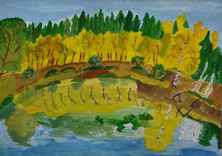 Конкурс рисунков «Родной лес» стартовал на Вологодчине