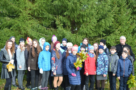 Общественники организовали для юных вологжан экологический урок в дендрарии